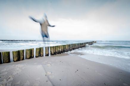 Selfie an der Ostsee